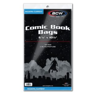 BCW – Comic Book Bags (modern/current)